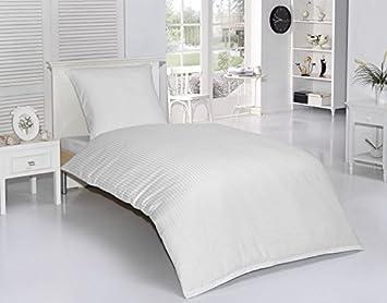 4tlg Baumwolle Damast Bettwäsche Set Hochwertige Mako Satin Qualität