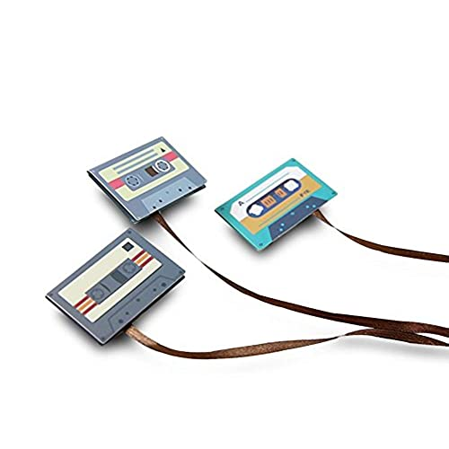 decorative office supplies. Lovely Finex - SET Of 6 Magnetic Retro Classical CASSETTE TAPE Decorative  Paper Clip Bookmark Decorative Office Supplies