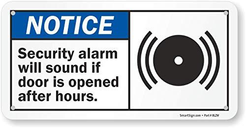 Amazon.com: Aviso – seguridad alarma sonará si puerta se ...