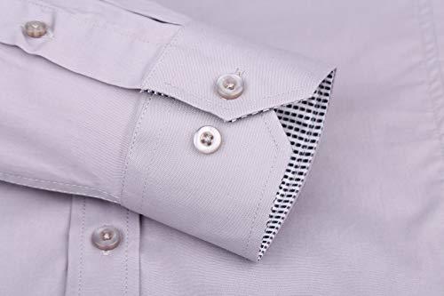 9537cd8c2a4 Alex Vando Mens Dress Shirts Regular Fit Long Sleeve Men Shirt - Exclusive  Products