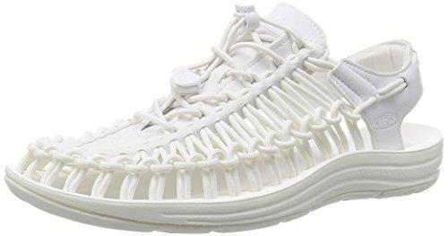 (KEEN Men's Uneek Sandal, Star White, 8.5 M US)