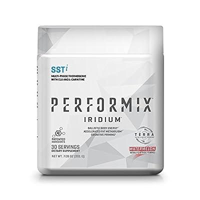PERFORMIX IRIDIUM SSTi, Thermogenic with CLA, Energy, Fat Burner, Mental Focus - 30 Servings Watermelon