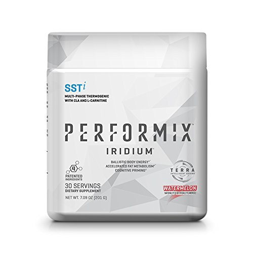 PERFORMIX Iridium SSTi, Thermogenic with CLA, Energy, Fat Burner, Mental Focus - 30 Servings Watermelon