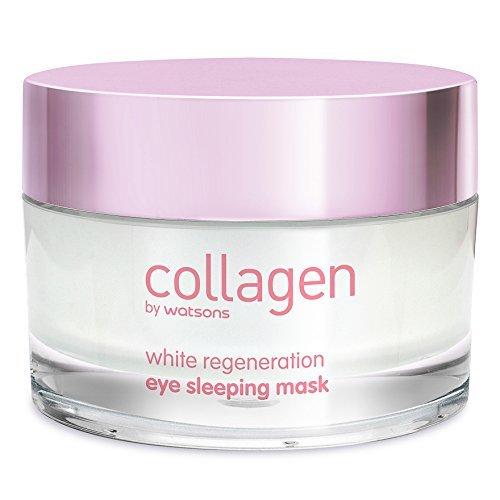 Collagen by Watsons White Regeneration Eye Sleeping Mask 50 ml. (4 Pack)