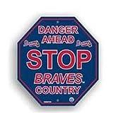 Atlanta Braves Stop Sign