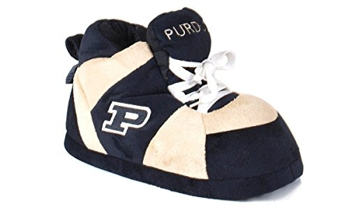 Happy Feet Uomo E Donna Con Licenza Ufficiale Ncaa College Slippers Slipper Purdue Boilermakers