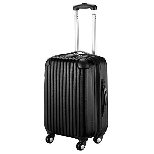 Black Suitcase - Goplus New GLOBALWAY 20