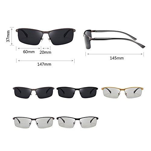UV pescar Intelligent Men Decoloration gafas anti GYYTYJ Sombra C Sunglasses Color Drive de D SSSX Polarizer q7AUwz