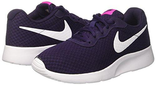 nike womens tanjun shoe purple dynastywhitefire pink