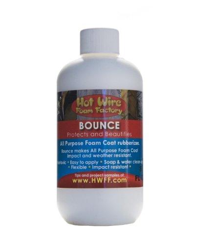 Hot Wire Foam Factory Bounce Rubberizer, 8-Ounce
