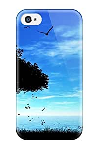 Brand New 4/4s Defender Case For Iphone (artistic Amazing Vintage Nature Free)