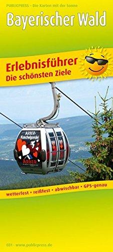 Bayerischer Wald: Erlebnisführer, Freizeitkarte mit Informationen zu Freizeiteinrichtungen auf der Kartenrückseite, wetterfest, reißfest, abwischbar, GPS-genau. 1:160000 (Erlebnisführer / EF)