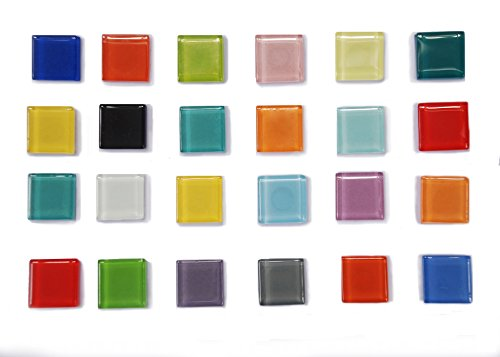 14-PCS Mix Color High Class Glass Refrigerator Magnets, Glass Magnets, Fridge Magnets,Whiteboard Magnets, Office Magnets for Magnetic Whiteboard, Calendar Magnets, Map - Store Glasses Vancouver