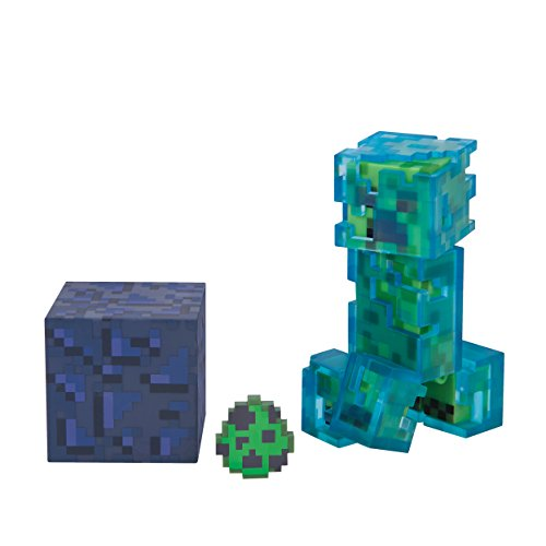Minecraft Charged Creeper Pack Figure Pack]()