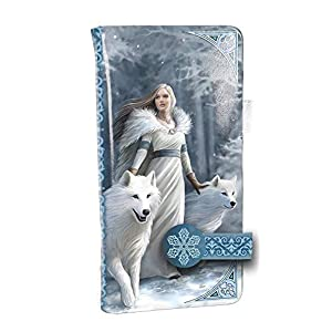 Nemesis-Now-Winter-Guardians-Anne-Stokes-Embossed-Purse-185cm-Blue-PU-One-Size