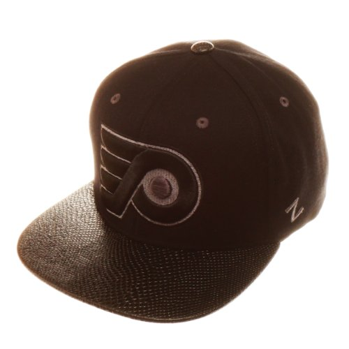 NHL Philadelphia Flyers Black Rattler Hat, Black