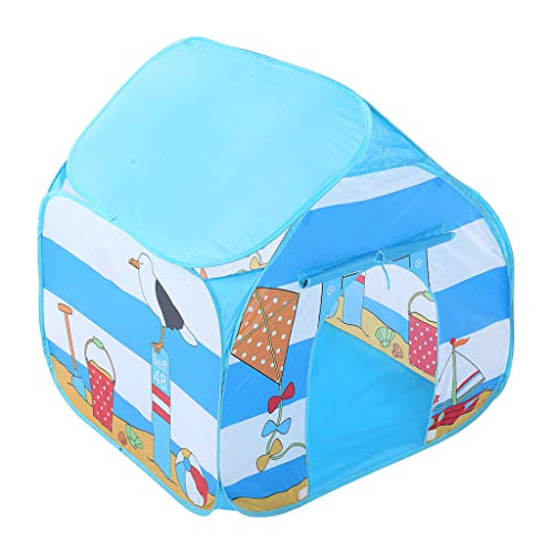 Cocal Imaginative Folding Children Kids Play Tent Indoor/Outdoor Toy House for Boys Girls Seaside