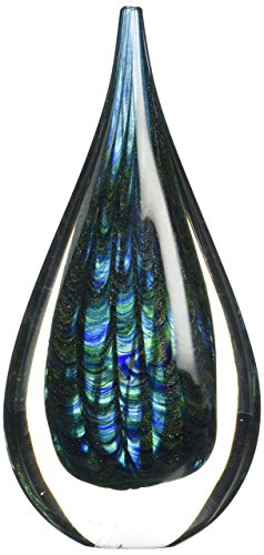 (Zingz & Thingz Peacock Inspired Art Glass)