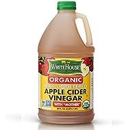 White House Organic Raw Unfiltered Apple Cider Vinegar (64oz)