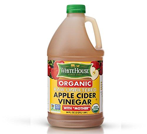 White House Organic Raw Unfiltered Apple Cider Vinegar (64oz) ()