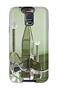 Extreme Impact Protector Green Glass Chandelier Against Green Painted Ceiling In Girls Bedroom Case Cover For Galaxy S5