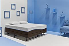 """The Thrive Wonder 12"""" air gel memory foam queen mattress will keep you cool, comfortable and supported for many years of undisturbed sleep. Connect offers affordable luxury, comfort and style for the busy young professional who needs to wake ..."""