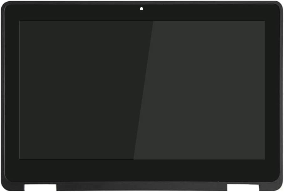New Replacement for Dell Chromebook 11 3100 2 in 1 LCD Touch Screen w/Bezel Assembly 9MH3J HD 1360x768 11.6 inch