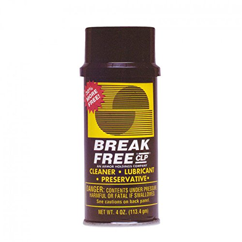 BreakFree CLP Aerosol Can 4 oz - Pack of 3 (12 oz Total) by BreakFree