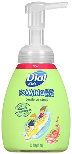 Dial Foaming Hand Soap for Kids, Watery Melon, 7.5 Fluid Ounces Melon Foaming Soap
