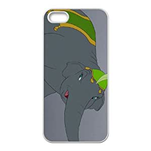 iPhone 4 4s Cell Phone Case White Disney Dumbo Character Catty the Elephant S4758964