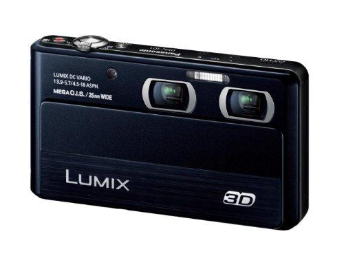 Panasonic digital cameras Lumix 3D shooting black DMC-3D1-K