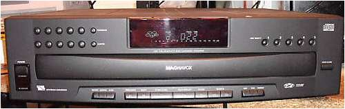 Magnavox Philips 5 CD Disc Changer CDC745