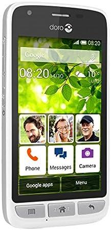 Doro Phone 820 Smartphone, Marca Tim, Color Blanco/Plateado ...