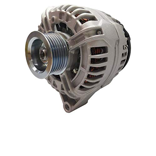 New Alternator Fits Chevy Impala V6 3.5L 3.9L 2006-2011, Monte Carlo V6 3.5L 3.9L 2006-2007 10335497, 20757889, 20911162