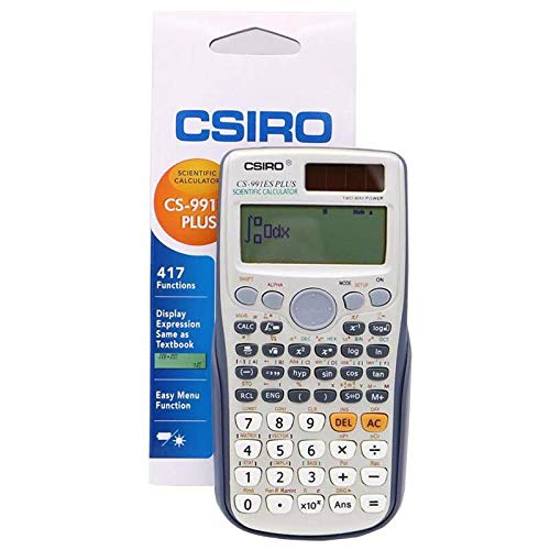 CSIRO CS-991ES Plus Engineering//Scientific Calculator
