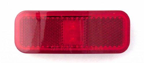SUPER LIGHT - LT22589NR Rectangular LED Clearance / Marker Light Kit 4 - by - 1 1/2 - inch Red