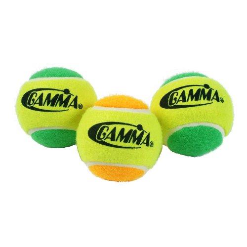Gamma Pressureless Practice Balls (Gamma Tennis Training Balls)