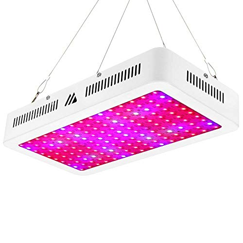 LED Grow Light 1500W Morsen Full Spectrum Growing Lamp 10watt Double...