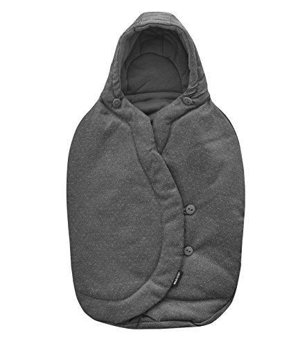 Maxi-Cosi Winter Footmuff for Baby Car Seats, Warm Footmuff Suitable From Birth, Sparkling Grey: Amazon.co.uk: Baby