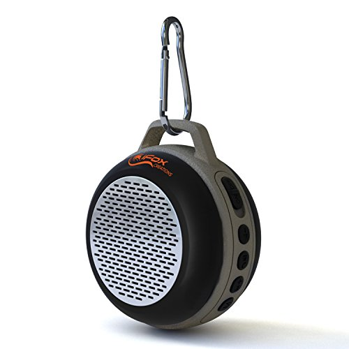iFox IFS303 Ultra Portable Wireless Bluetooth Speaker for iPhone iPad iPod Android or PC with FM Radio, AUX, SD and Speakerphone, Outdoor and Indoor