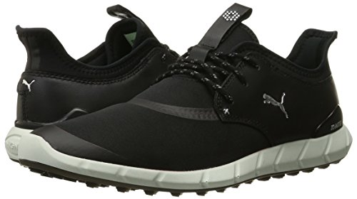 Puma Silver Golf Shoe Ignite puma PUMA Mens Spikeless Black Sport BzwY7RTq
