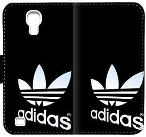 Nuevo logotipo de Adidas caja del cuero Pis C0V1T Funda Samsung Galaxy S4 Funda rXY000 Custom Design funda caso del tirón del teléfono