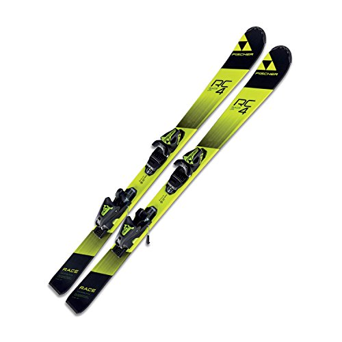 Fischer RC4 Race Jr. Skis + FJ AC Bindings - 2018 (130) Fischer Ski Equipment