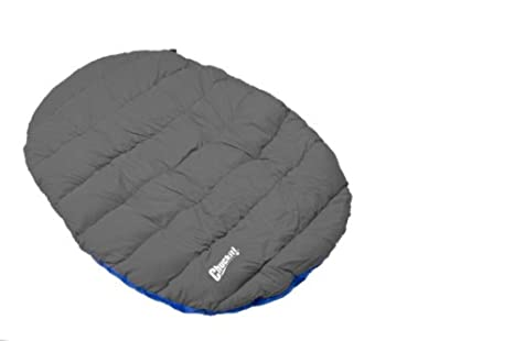 Travel Dog Bed >> Amazon Com Chuckit Travel Bed Comfort On The Go Blue Gray