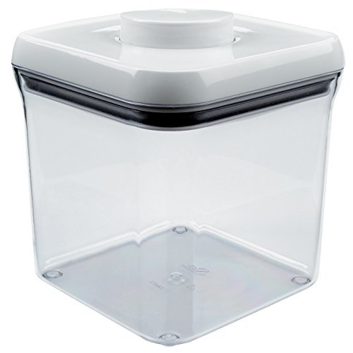 OXO Good Grips POP Big Square 2.4-Quart Storage Container (Set of 4)