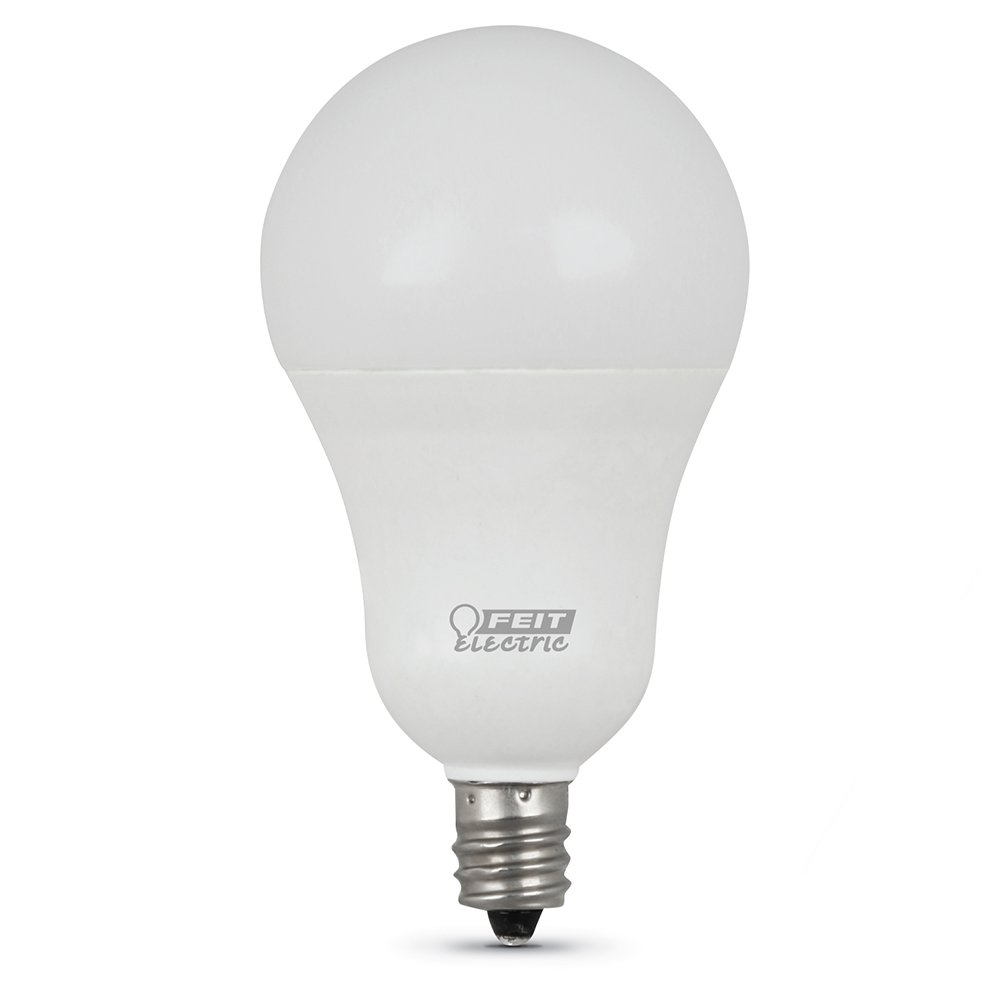 5000 K CRI 80 FEIT ELECTRIC A1540C//850//10KLED//3 A1540C//850//10Kled Non-Dimmable Led Lamp 300 Lumens 1-3//4 in Dia 120 Vac White 40 W