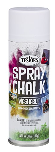 Testors 307587 - 3 PK Spray Chalk, 6 Oz, White