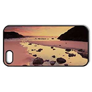 Morning Light Watercolor style Cover iPhone 5 and 5S Case (Beach Watercolor style Cover iPhone 5 and 5S Case)