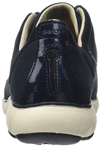 Geox Basses Baskets Bleu Nebula A navy Femme rwTrPq