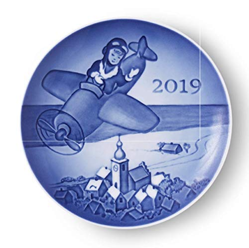 Royal Copenhagen Bing & Grondahl 2019 Collectible Children's Day Plate